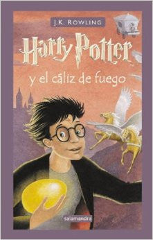 Harry Potter y el caliz de fuego - Harry Potter and the goblet of fire (Spanish)