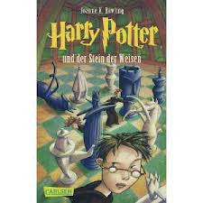 H. Potter in German: Harry Potter und die Stein der Weisen German)