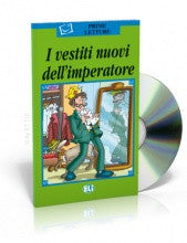 I vestiti nuovi dell'imperatore - The emperor's new clothes, Book + CD (Italian)