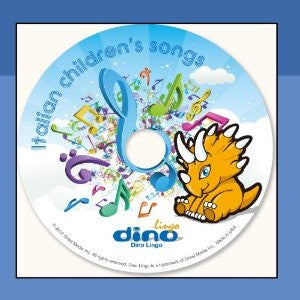 Italian Children's Songs, CD (Italian)