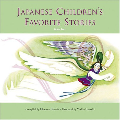 Japanese Children's Favorite Stories, Book 2, Book & CD,  (English)