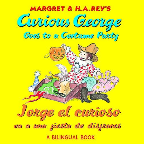 Jorge el curioso va a una fiesta de disfraces (Spanish-English)