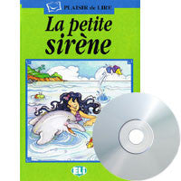 La Petit Sirene - The little mermaid, Book + CD  (French)