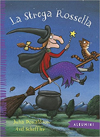 La strega Rossella - Room on the Broom (Italian)