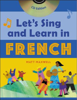 Let's Sing and learn in French, Book+CD (French)