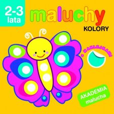 Maluchy: Kolory z naklejkami - Kolors with stickers (Polish)