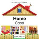My first bilingual book - Home (Portuguese-English)