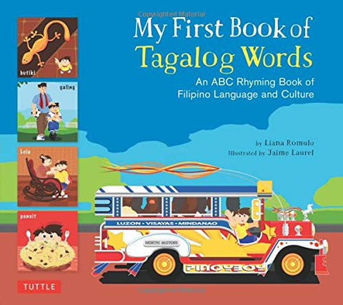 My First Book of Tagalog Words (Tagalog-English)