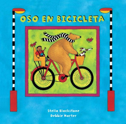 Oso en bicicleta - Bear on a Bike (Spanish)