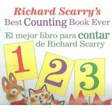 Richard Scarry's Best Counting Book Ever / El mejor libro para contar de Richard Scarry (Spanish-English)