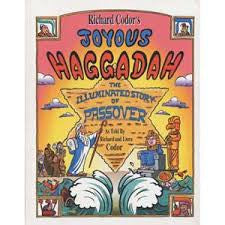Children's Book on Jewish Holidays: Richard Codor's Joyous Haggada: A Children and Fammily Cartoon Haggadah for Passover (English)