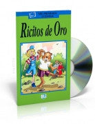Ricitos de Oro -Goldilocks, Book & CD (Spanish)