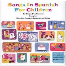 Songs in Spanish for Children - audio CD (Spanish)