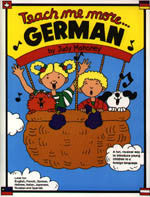 Teach Me German and More German,  book and 2CD