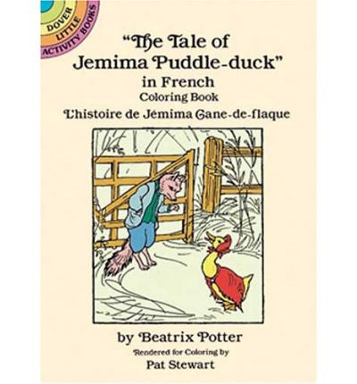 L'Histoire De Jemima Cane-De-Flaque: Colouring Book (French)