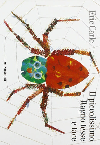 Il piccolissimo ragno tesse e tace - The very busy spider (Italian)