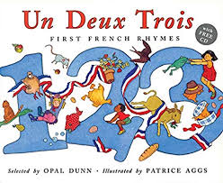 Un Deux Trois - First French Rhymes, Book+CD (French)