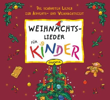 Weihnachts - Lieder fur kinder CD+ book with lyrics (German)
