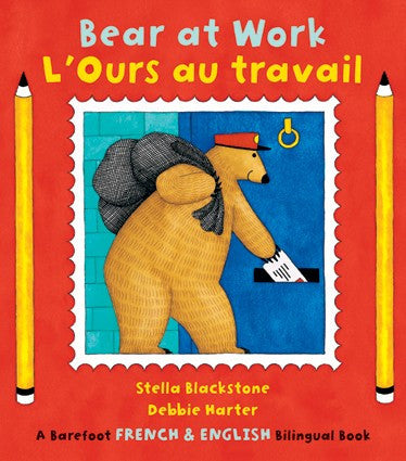 Bear at Work - Ours au travail (French-English)