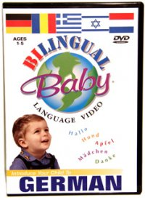 Bilingual Baby: Teach Baby German (German - English)