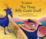 Bilingual Arabic Children's Book: Three Billy  Goats Gruff (Arabic-English)