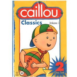 Caillou Classics Volume 1,DVD (2 CD set) - French