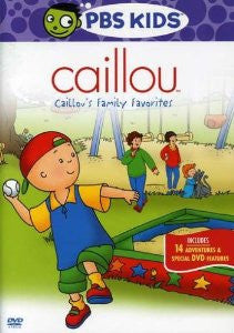 Caillou family favorites, DVD (Spanish-English)