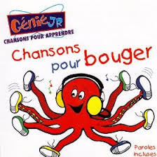 French Childrens Songs CD: Chansons pour Bouger, CD  (French)
