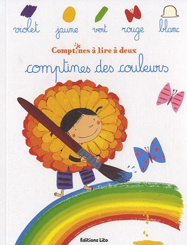 Comptines a lire a deux: Comptiness les couleurs (French)