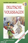 German Children's Book & CD: Deutsche Volkssagen-German Folk Tales  (German)