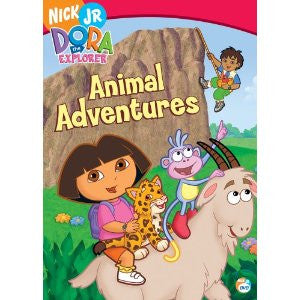 Dora the Explorer - Animal Adventures , DVD (English, French, Spanish)