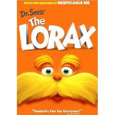 Dr Seuss'  The Lorax, DVD (English, French, Spanish)