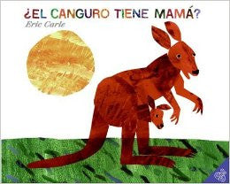 Eric Carlr in Spanish: El canguro tiene mama?-Does a kangaroo has a mother, too? (Spanish)