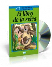 El libro de la selva-Jungle book, Book+CD