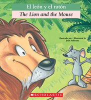The lion and the mouse - El Leon y el Raton (Spanish-English)
