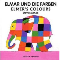 David McKee in German: Elmar und die Farben  (German-English)