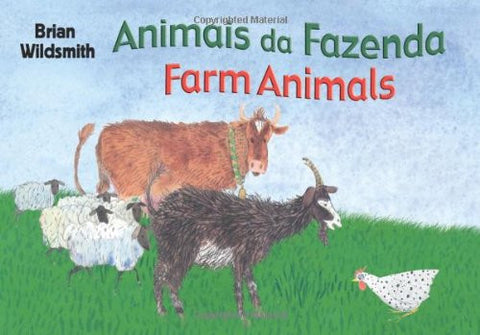 Animais da Fazenda-Farm Animals (Portuguese-English)