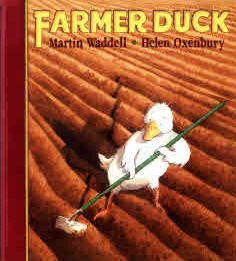 Bilingual Arabic Children's Book: Farmer Duck (Arabic-English)