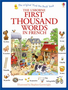 First 1000 Words in French (French-English))