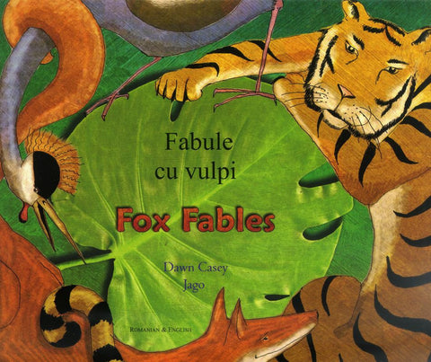 Bilingual Arabic Children's Book: Fox Fables (Arabic-English)