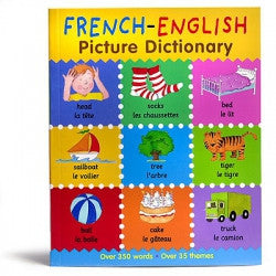 French-English Picture Dictionary for Children (French-English)