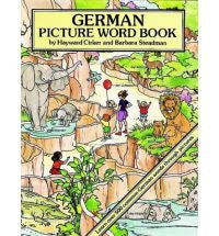 German Picture Word Book (German-English)