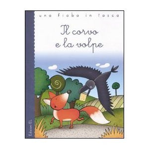 Il corvo e la volpe-The crow and the fox (Italian)