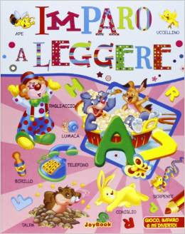 Imparo a leggere - I learn to read (Italian)