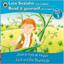 Jack and the Beanstalk, Read it yourself, level 3 (Portuguese-English)