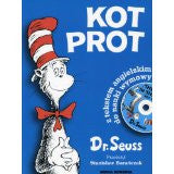 Kot Prot - Cat in the Hat , Book+Cd (Polish-English)
