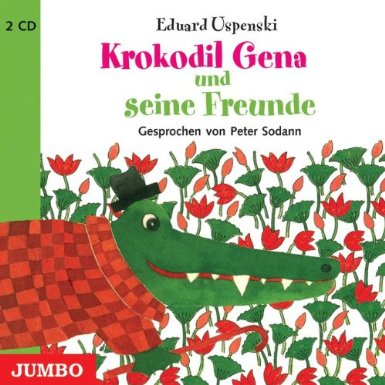 Krokodil Gena und seine Freunde-Crocodil Gena and his friends, CD (German)