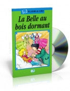 La belle au bois dormant -The sleeping Beauty , Book + CD (French)