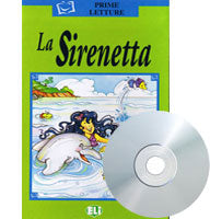 La Sirenetta - The Little Mermaid, Book+CD (Italian)