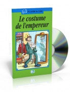 Le costume de l'empereur, Book + CD (French)